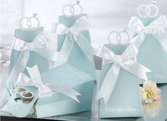 קופסאות כחולות לחתונה